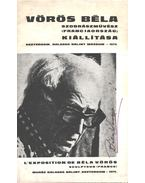 Vörös Béla szobrászművész kiállítás (aláírt)