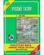 Vysoké Tatry (1:50000)