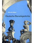 Deutsche Barockgedichte - WEBER, ALBRECHT