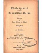 Shakespeares sämtliche Dramatische Werke 1-12. (négy kötetben) - William Shakespeare