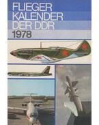 Fliegerkalender der DDR 1978 - Wolfgang Sellenthin