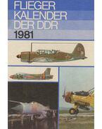Fliegerkalender der DDR 1981 - Wolfgang Sellenthin