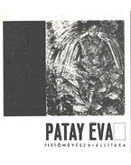 Patay Éva festőművész kiállítása - Z. Szabó László