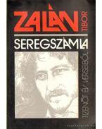 Seregszámla - Zalán Tibor