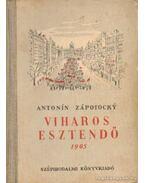 Viharos esztendő 1905 - Zápotocky, Antonín