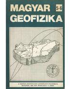Magyar geofizika XXV. évf. 5-6. szám - Zelei András