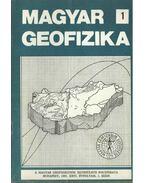 Magyar geofizika XXVI. évf. 1. szám - Zelei András