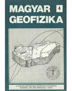 Magyar geofizika XXVI. évf. 4. szám - Zelei András