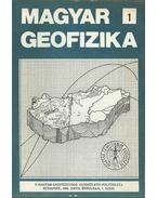 Magyar geofizika XXVII. évf. 1. szám - Zelei András