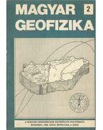 Magyar geofizika XXVII. évf. 2. szám - Zelei András