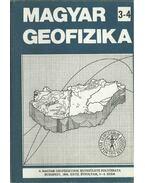 Magyar geofizika XXVII. évf. 3-4. szám - Zelei András