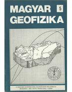 Magyar geofizika XXVII. évf. 5. szám - Zelei András