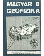 Magyar geofizika XXVIII. évf. 1. szám - Zelei András