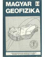 Magyar geofizika XXVIII. évf. 2-3. szám - Zelei András