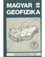 Magyar geofizika XXVIII. évf. 4-5. szám - Zelei András