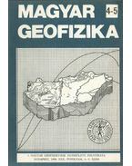 Magyar geofizika XXX. évf. 4-5. szám - Zelei András