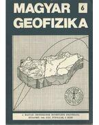 Magyar geofizika XXX. évf. 6. szám - Zelei András