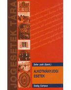 Alkotmányjogi esetek - Zeller Judit