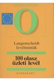 100 olasz üzleti levél - Régikönyvek