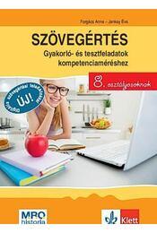 Szövegértés - gyakorló- és tesztfeladatok kompetenciaméréshez 8. osztályosoknak - Régikönyvek