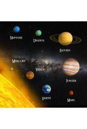 Naprendszer 3D kártya  205 x 205 mm F - Régikönyvek