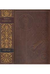 1657-1740. évi törvényczikkek - Régikönyvek
