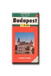 BUDAPEST TÉRKÉP - Freytag, Berndt Budapest Kft. - Régikönyvek