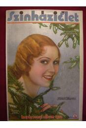 Szinházi Élet karácsonyi album1934. - Régikönyvek