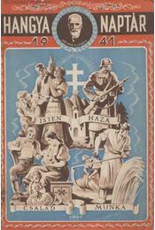Hangya naptár 1941 - Régikönyvek