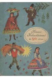 Kincses Kalendárium az 1962. évre - Régikönyvek