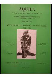 Aquila 1971-1972 - Régikönyvek