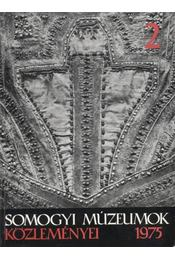 Somogyi Múzeumok Közleményei 2 - Régikönyvek