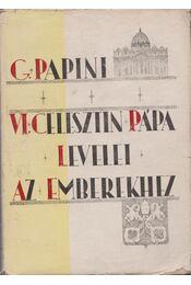 VI. Celesztin pápa levelei az emberekhez - Régikönyvek