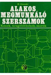 Alakos megmunkáló szerszámok - Régikönyvek