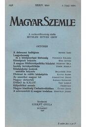 Magyar Szemle 1938 XXXIV. kötet 2. (134.) szám - Régikönyvek