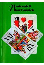 21 válogatott kártyajáték - Régikönyvek