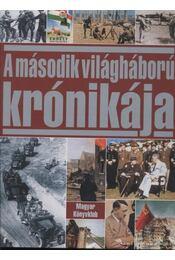 A második világháború krónikája - Régikönyvek