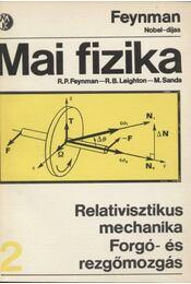 Relativisztikus mechanika - Forgó- és rezgőmozgás - Régikönyvek