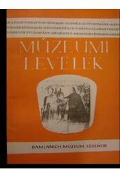 Múzeumi Levelek 35-36. - Régikönyvek