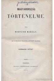 Magyarország történelme III. kötet - Régikönyvek