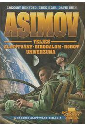 Isaac Asimov teljes Alapítvány-Birodalom-Robot univerzuma - Régikönyvek