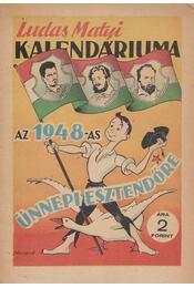 Ludas Matyi Kalendáriuma az 1948-as jubileumi esztendőre - Régikönyvek