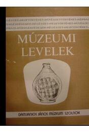 Múzeumi Levelek 49-50. - Régikönyvek