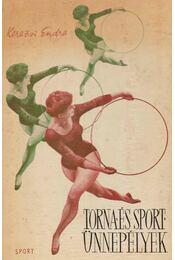 Torna- és sportünnepélyek - Régikönyvek