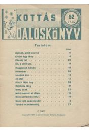 Kottás daloskönyv 52. szám - Régikönyvek