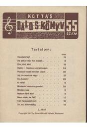 Kottás daloskönyv 55. szám - Régikönyvek