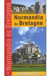 Normandia és Bretagne - Kovács Gáborján - Régikönyvek