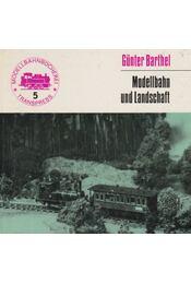 Modellbahn und Landschaft - Régikönyvek