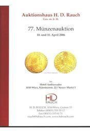77. Münzenauktion - Régikönyvek
