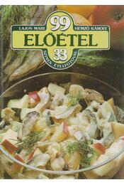 99 előétel 33 színes ételfotóval - Régikönyvek